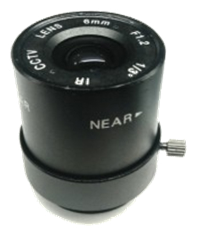 F1.2 6mm MANUAL IR night vision CCTV Camera Lens