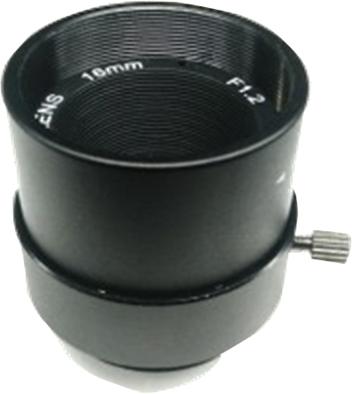 17 Degree F1.2 16mm IR Board Lens 1/3 for CCTV Camera
