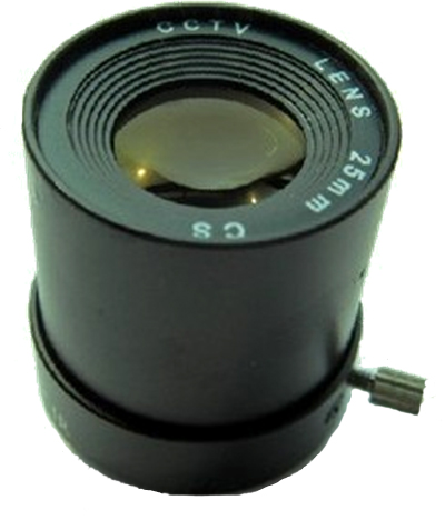 25mm CCTV Security IR CS Mount Camera Lens F1.6