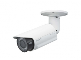 720P dual-stream network HD fixed camera with built-in IR Illuminators Sony SNC-CH160