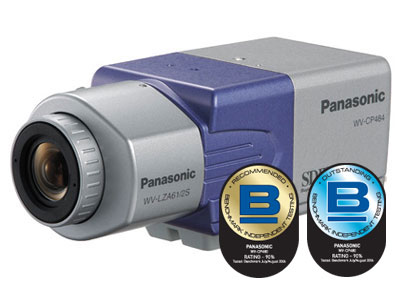 Panasonic WV-CP484 1/3 CCD Color Surveillance Camera