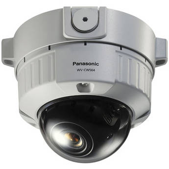 Panasonic WV-CW504S Super Dynamic 5 Vandal-Resistant Day/Night Fixed Dome Camera